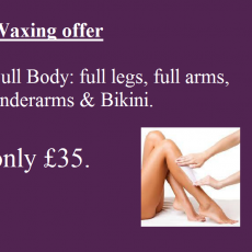 waxing offer